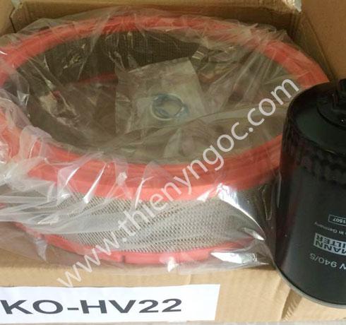 Bộ lọc dầu lọc gió Hydrovane HV22